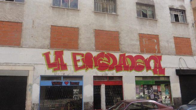Entrada de La Enreadera. okupación tetuán