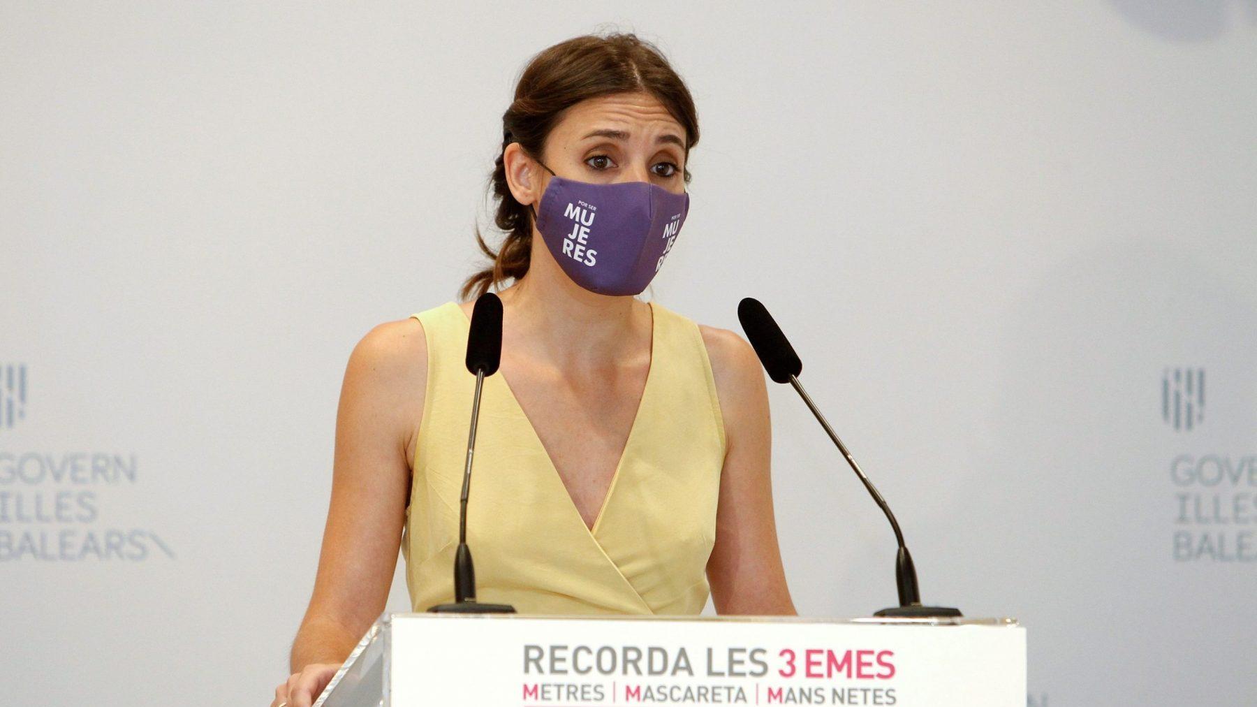 La ministra de Igualdad, Irene Montero (ISAAC BUJ / Europa Press).