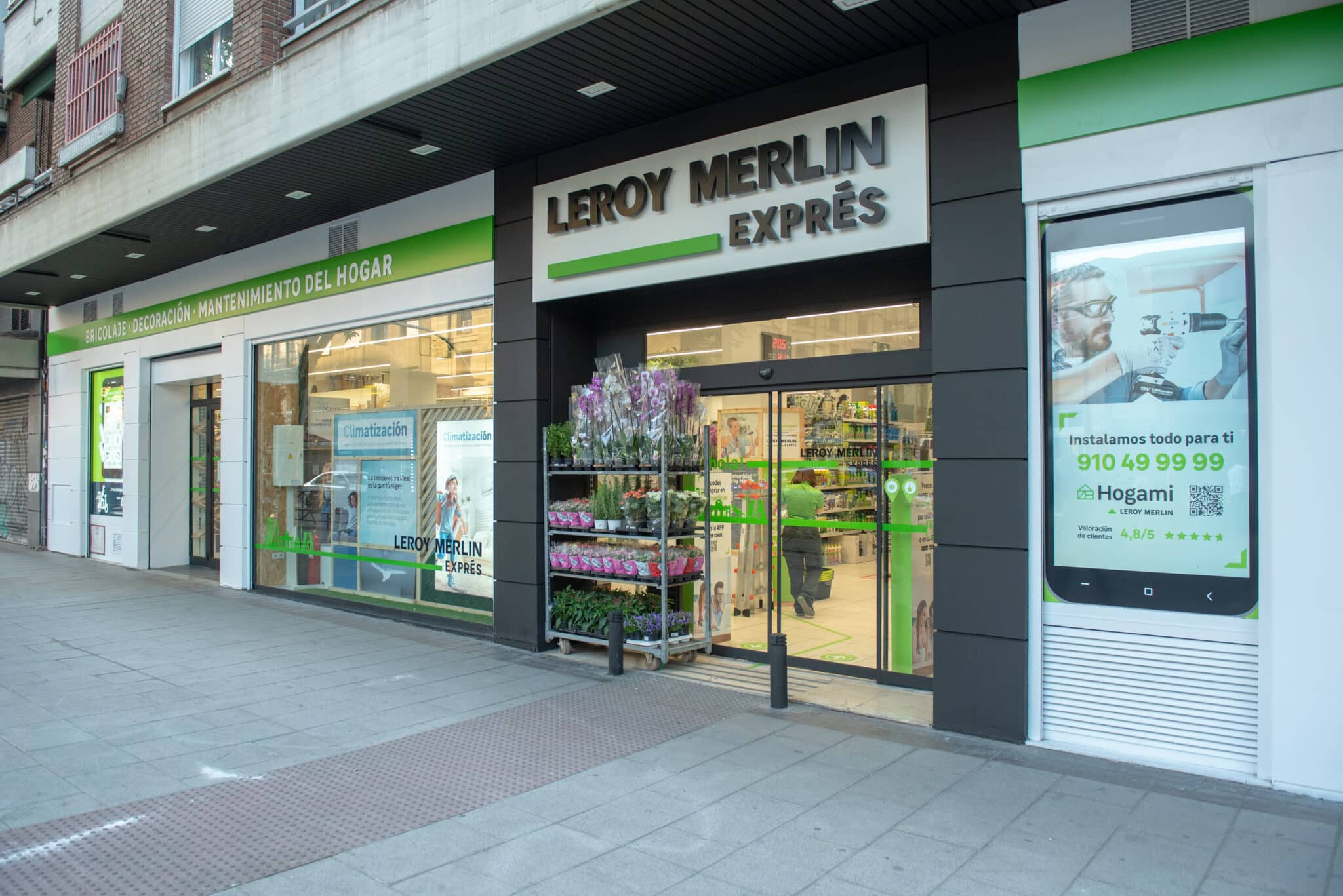 Leroy Merlin Exprés abre en el centro de Madrid