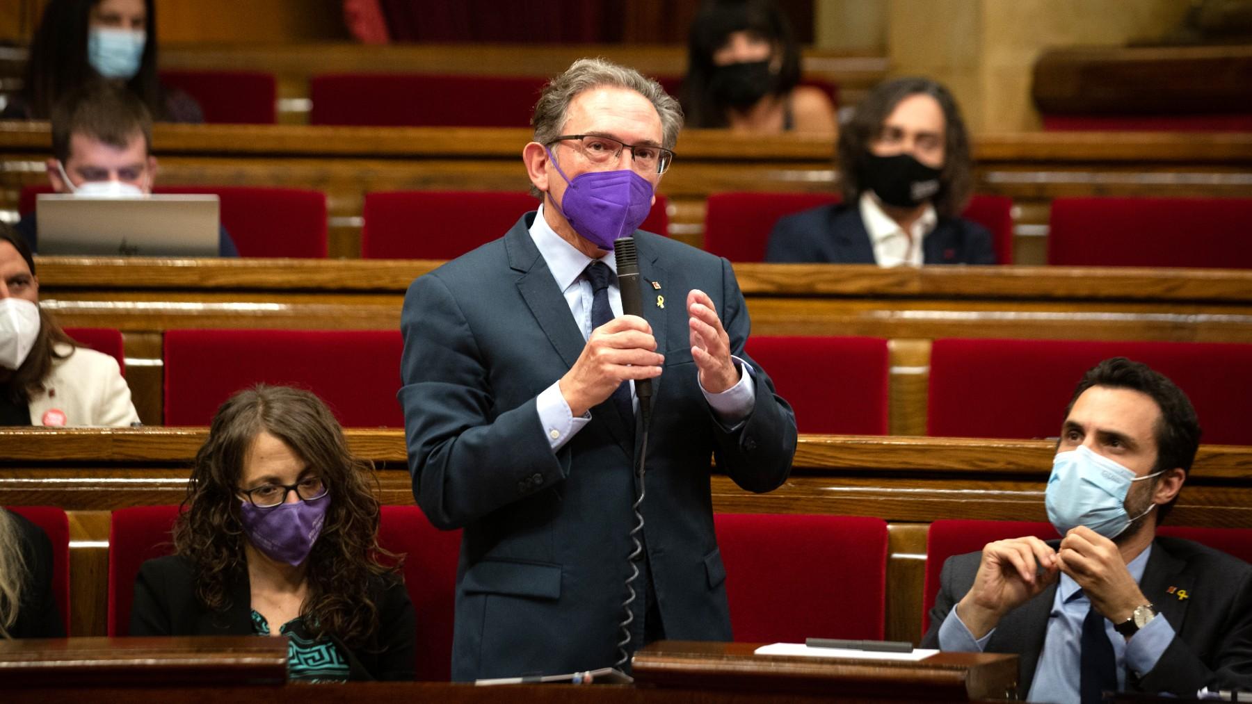 El consejero de Economía de la Generalitat, Jaume Giró. (Foto: Europa Press)