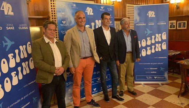 Andoni Ferreño y Richy Castellanos se unen para reabrir el telón en los principales teatros del país