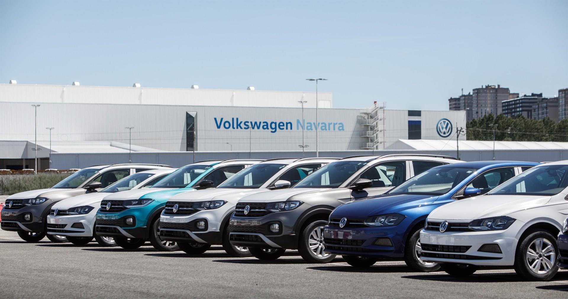 La planta de Volkswagen en Navarra