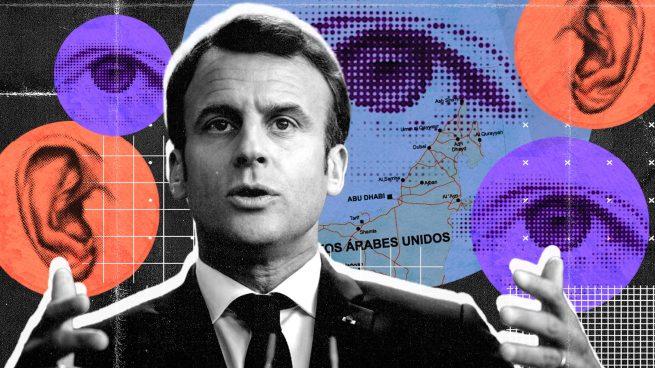 Macron no fue espiado con Pegasus sino con el software DarkMatter de Emiratos Árabes Unidos