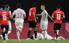 España se lleva un palo en el estreno en los Juegos