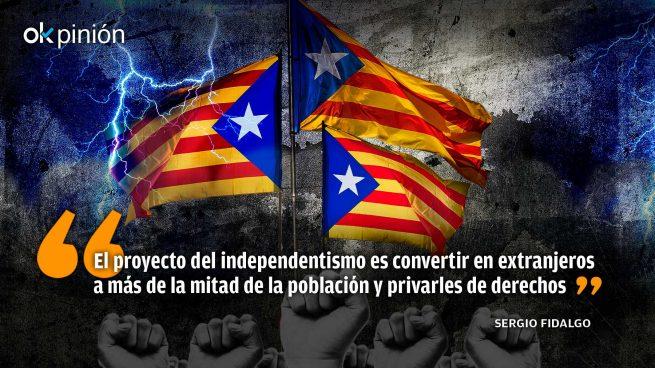El 'apartheid' del separatismo catalán