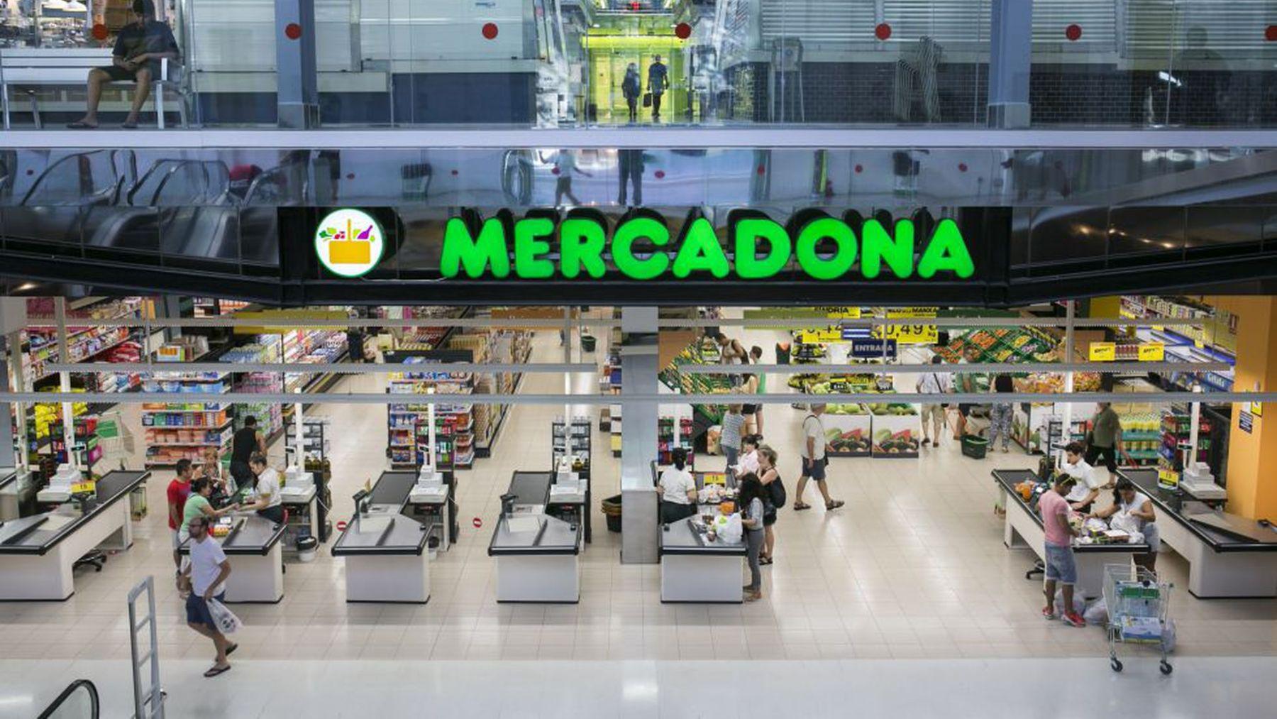 Mercadona es el supermercado con mayores ventas en España