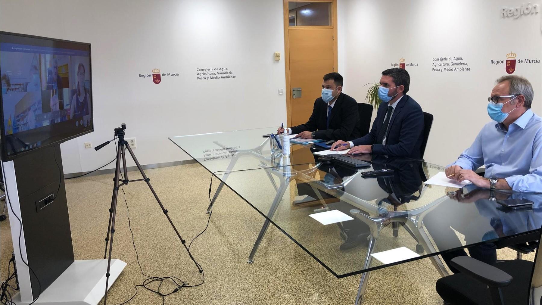 El consejero de Agua del Gobierno murciano, Antonio Luengo. (Foto: Europa Press)