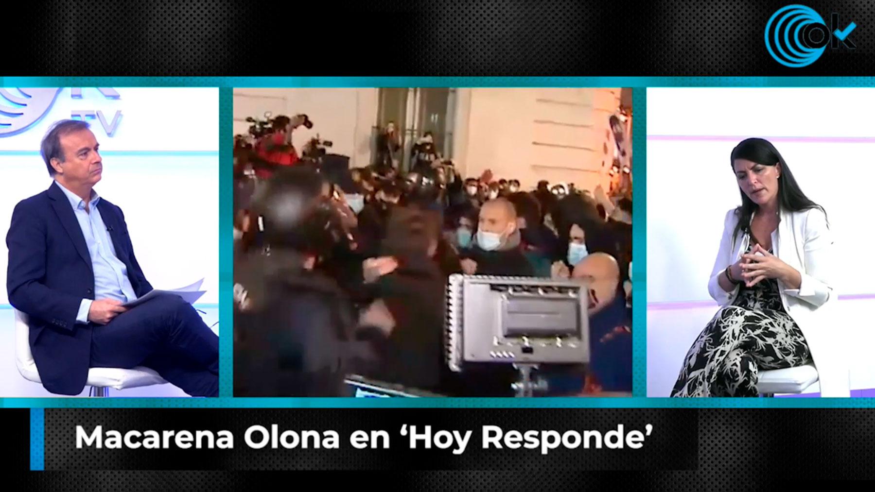 Macarena Olona en Hoy Responde