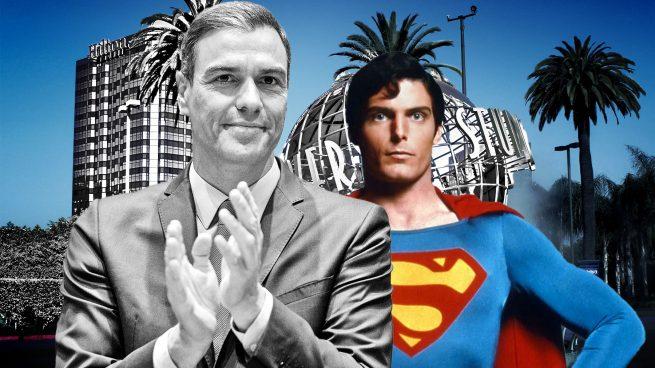 Sánchez se cree lo de 'Superman' y dice que convertirá España «en el Hollywood de Europa»