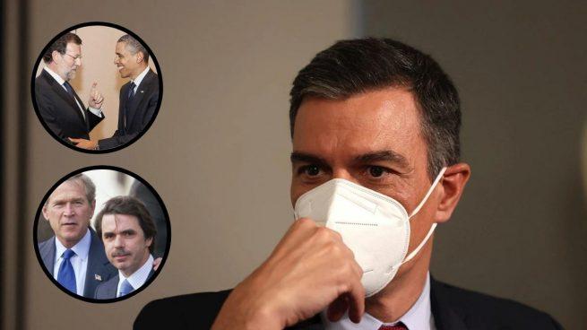 Los presidentes de España fueron recibidos 16 veces en la Casa Blanca que Sánchez no pisará en su viaje