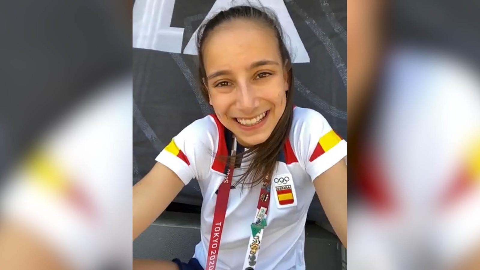 Adriana Cerezo habla con OKDIARIO tras su medalla de plata.