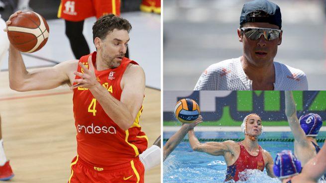 Horario y dónde ver a los españoles con opción a medalla, lunes 26 de julio, en los Juegos Olímpicos de Tokio
