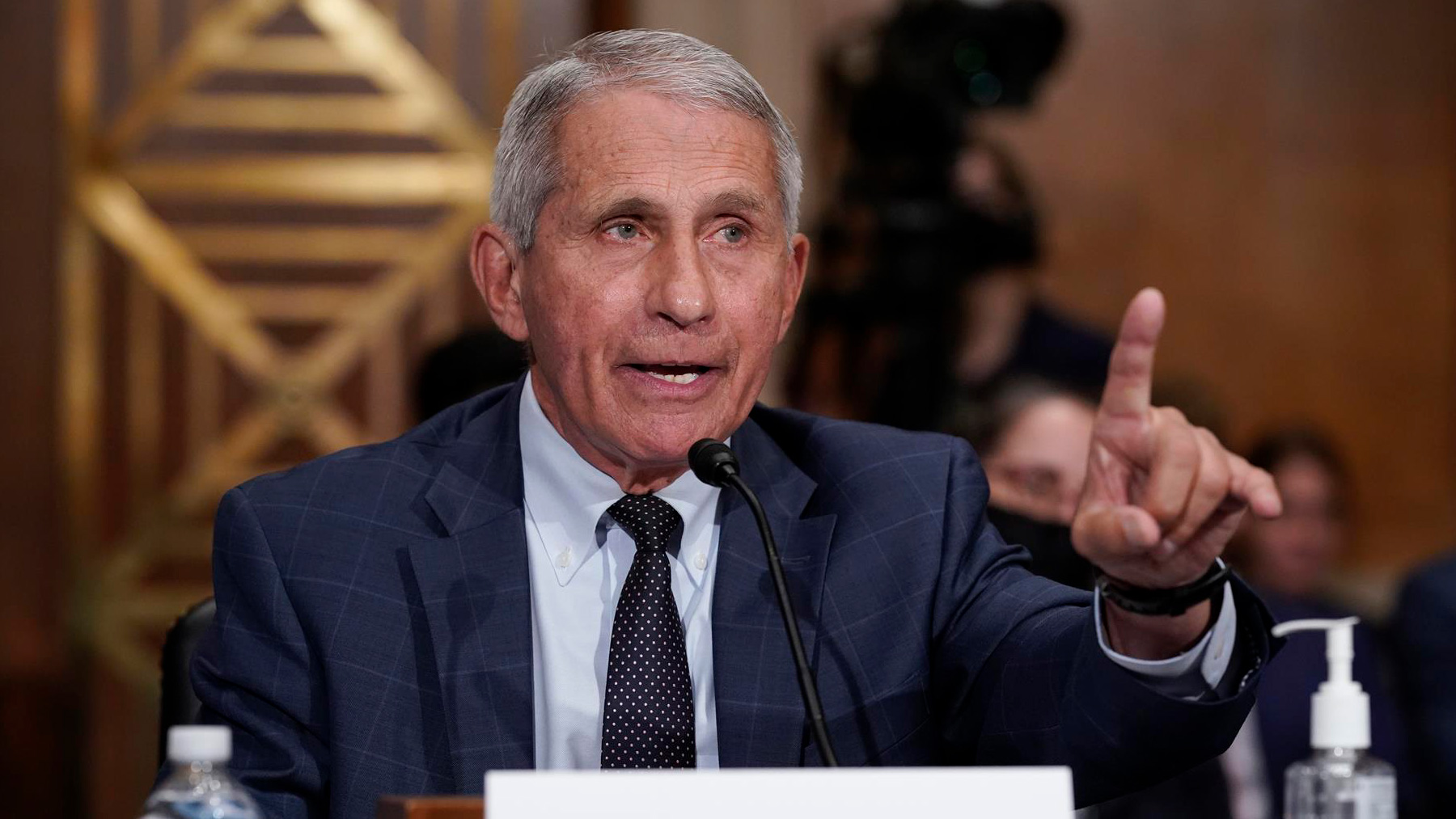 El doctor Anthony Fauci. Foto: EP