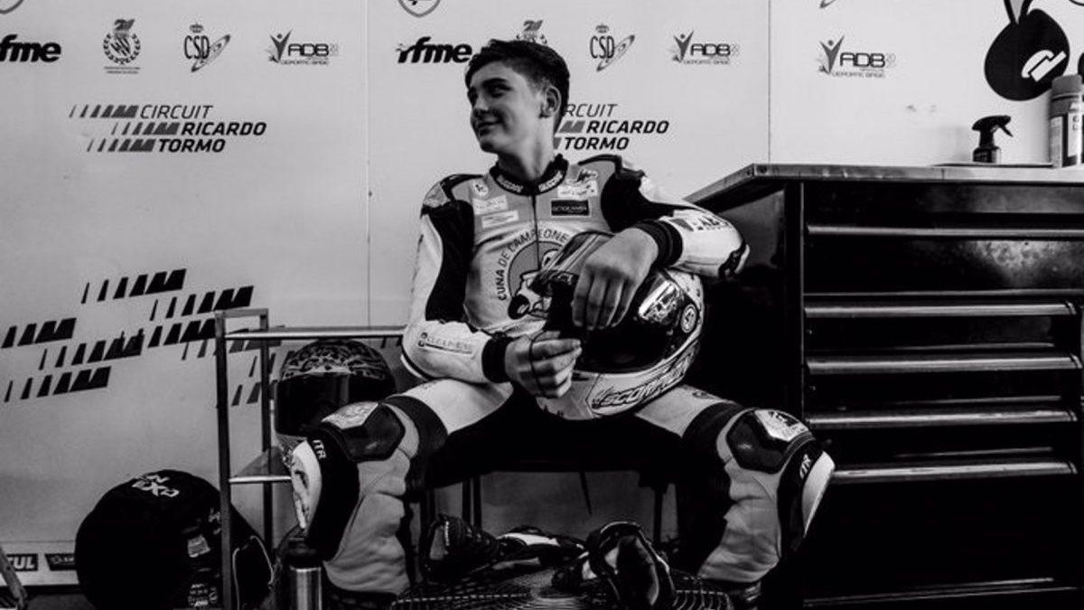 Fallece el piloto de 14 años Hugo Millán en un accidente.