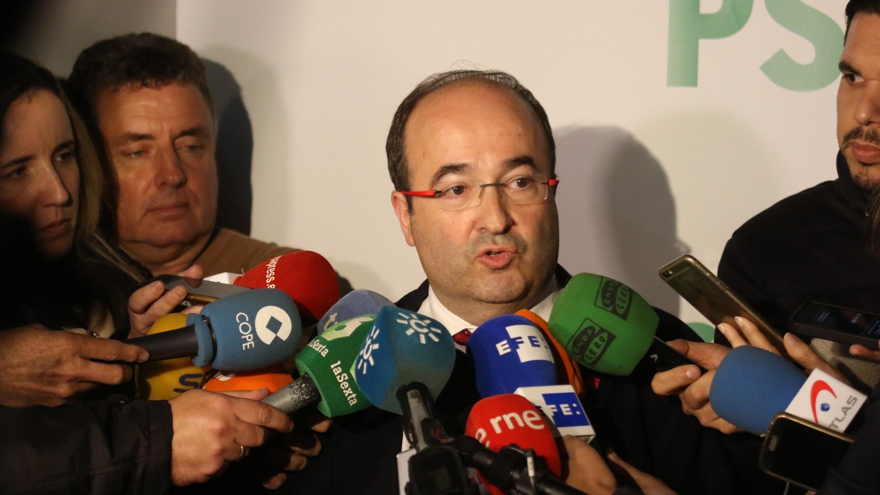 El ministro de Cultura y Deportes, Miquel Iceta.