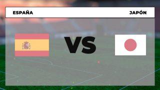 España Japón horario tv