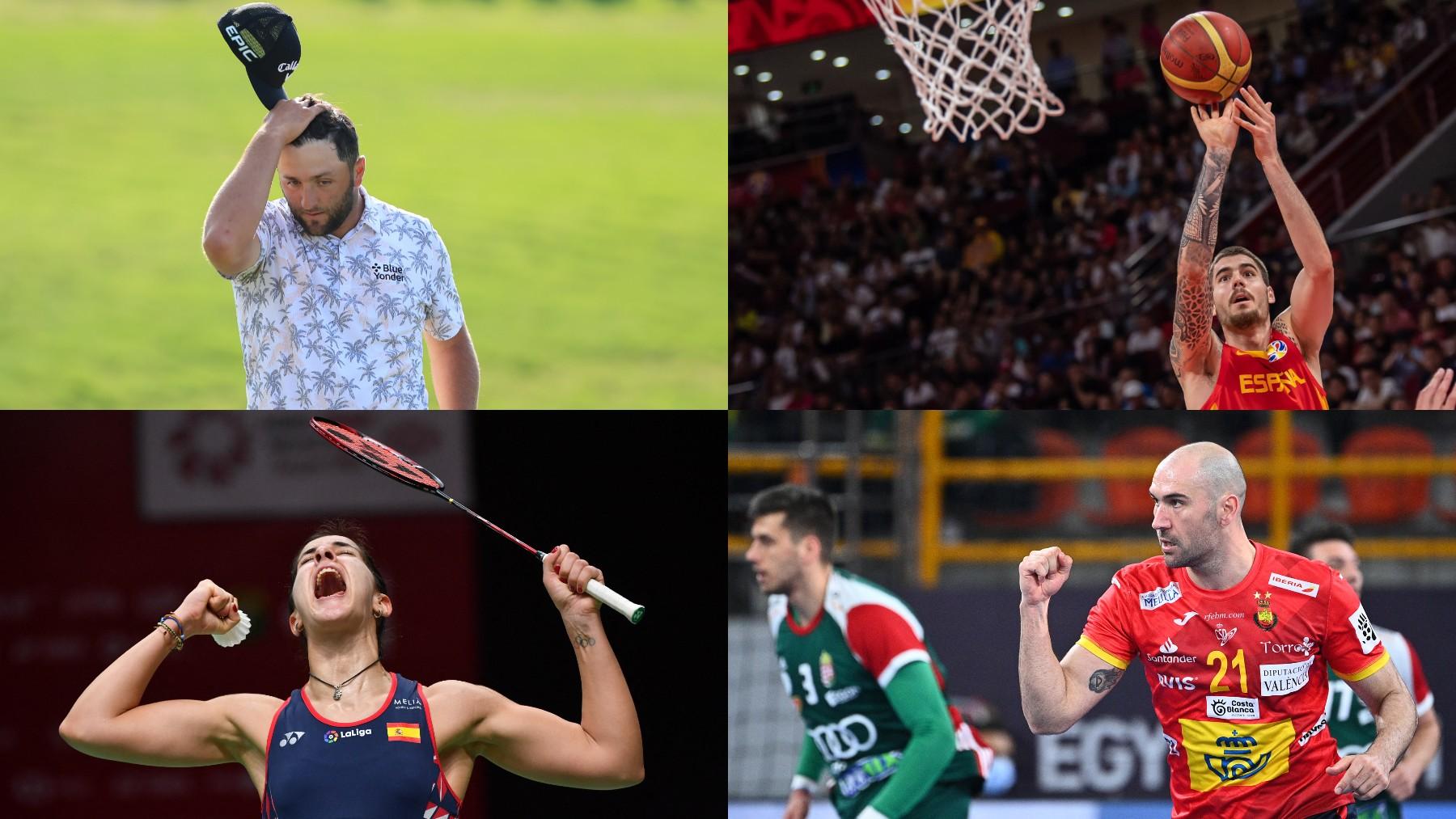 Los ausentes de España en los Juegos Olímpicos.