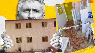 Incendios y agresiones en la cárcel de Villena.