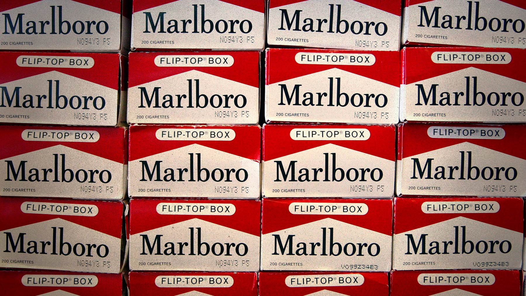 Paquetes de Marlboro.