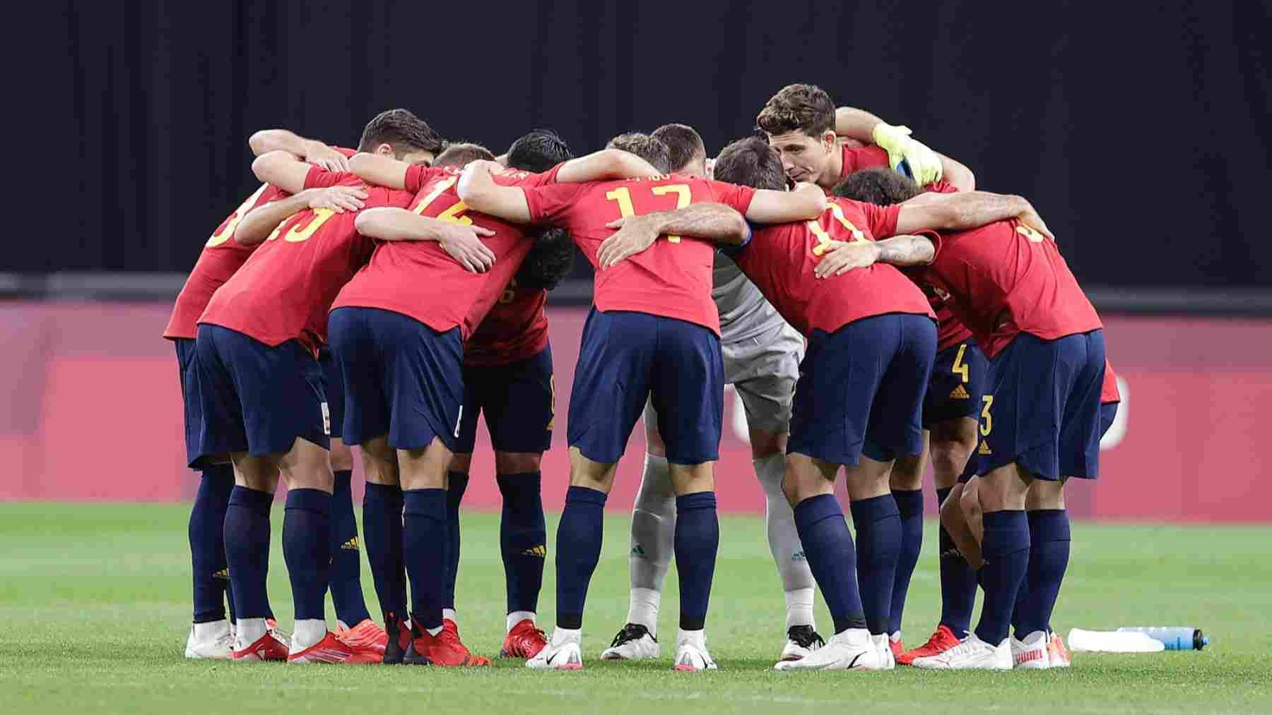 España en los Juegos Olímpicos de Tokio. (@SeFutbol)