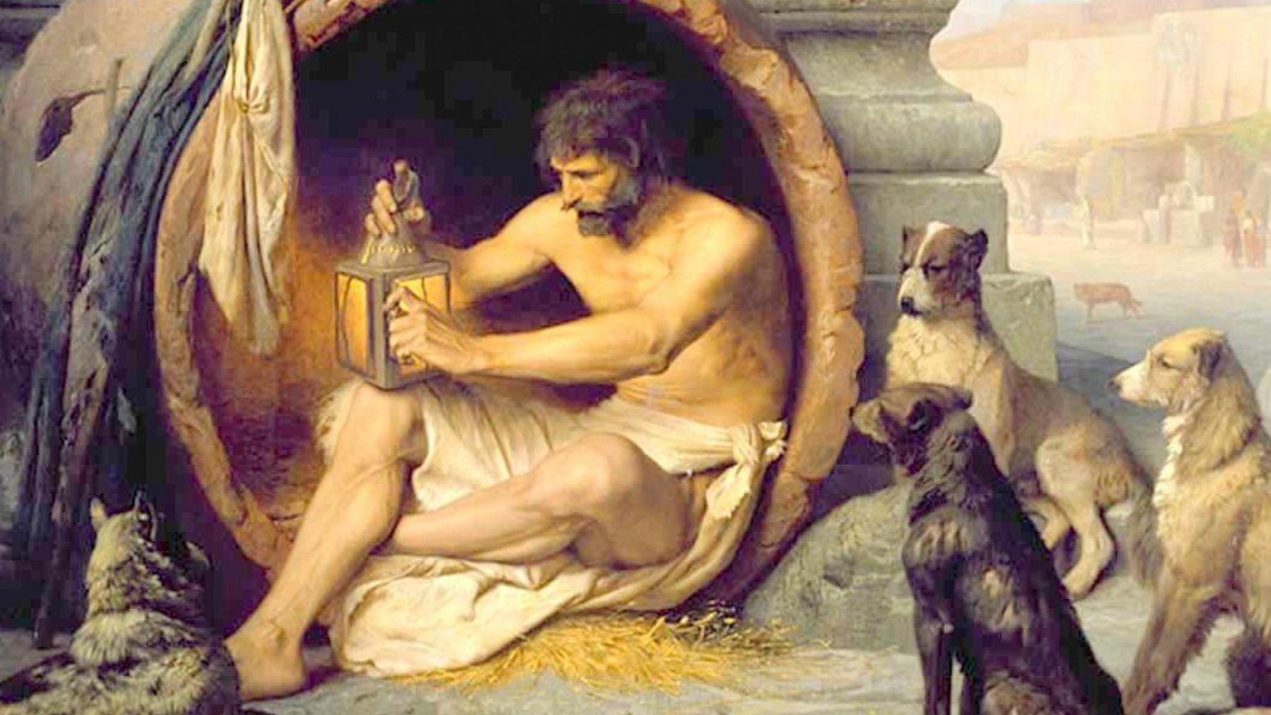 Descubre quien fué Diógenes de Sinope a través de sus mejores frases y reflexiones