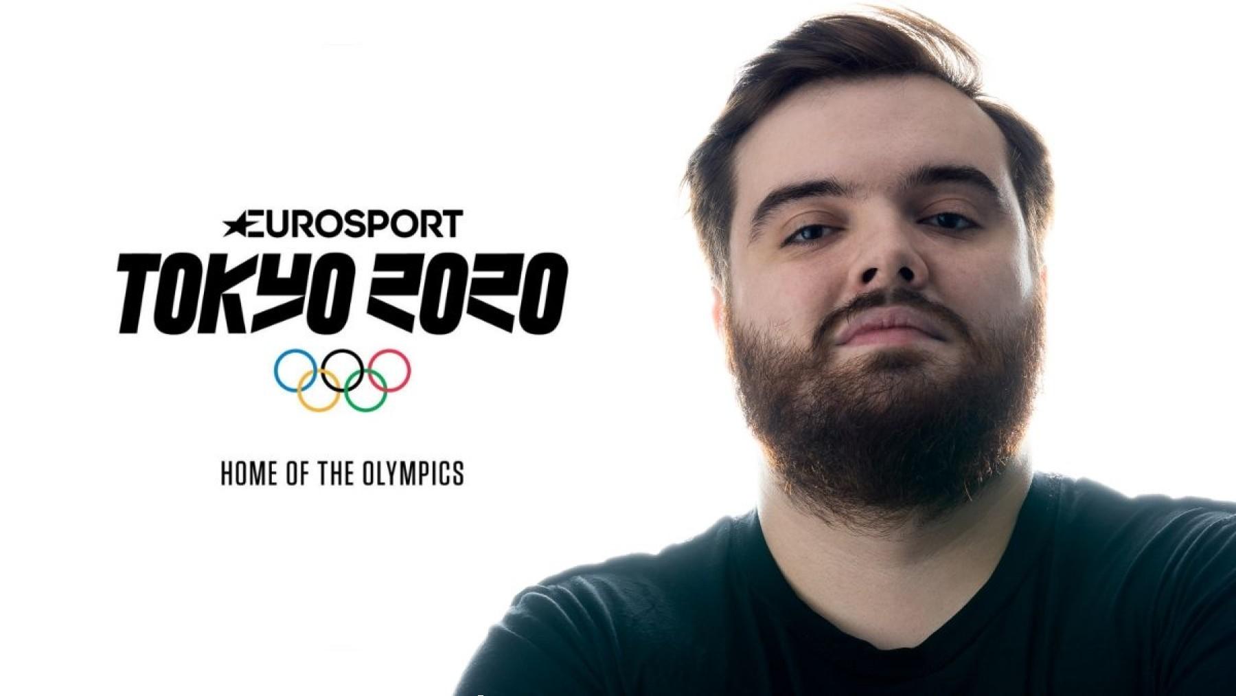 Ibai Llanos, narrador de Eurosport para los Juegos Olímpicos de Tokio.