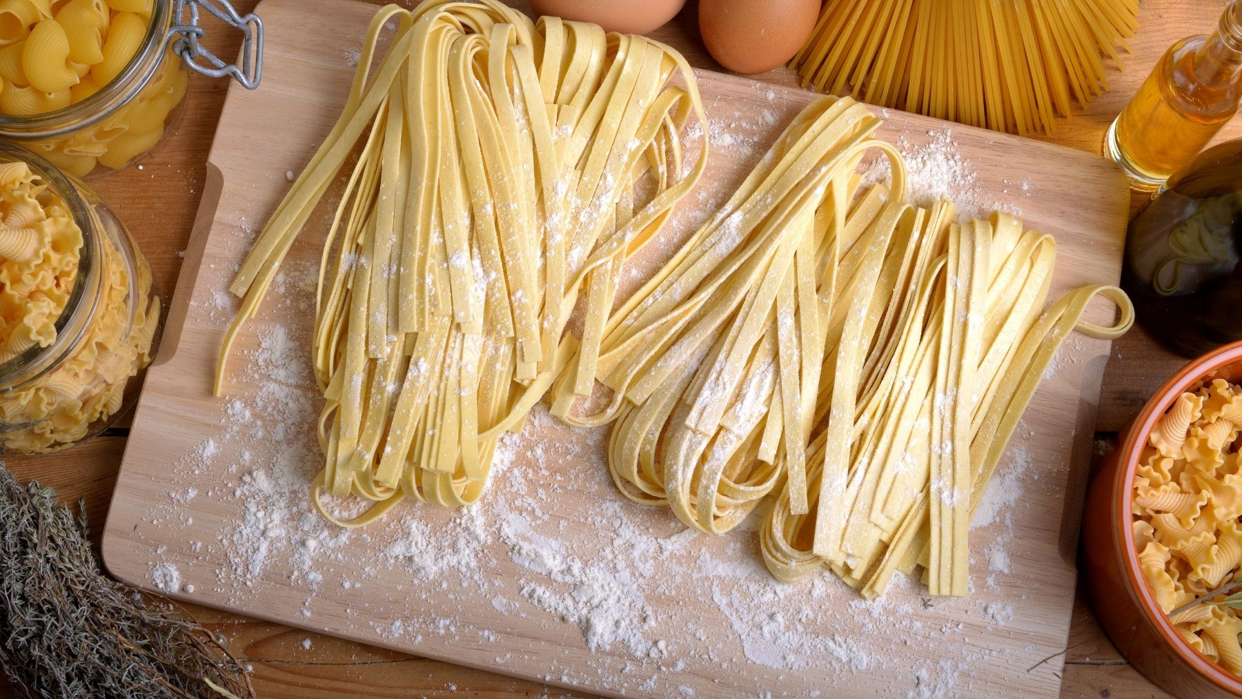 Receta de pasta sin gluten casera