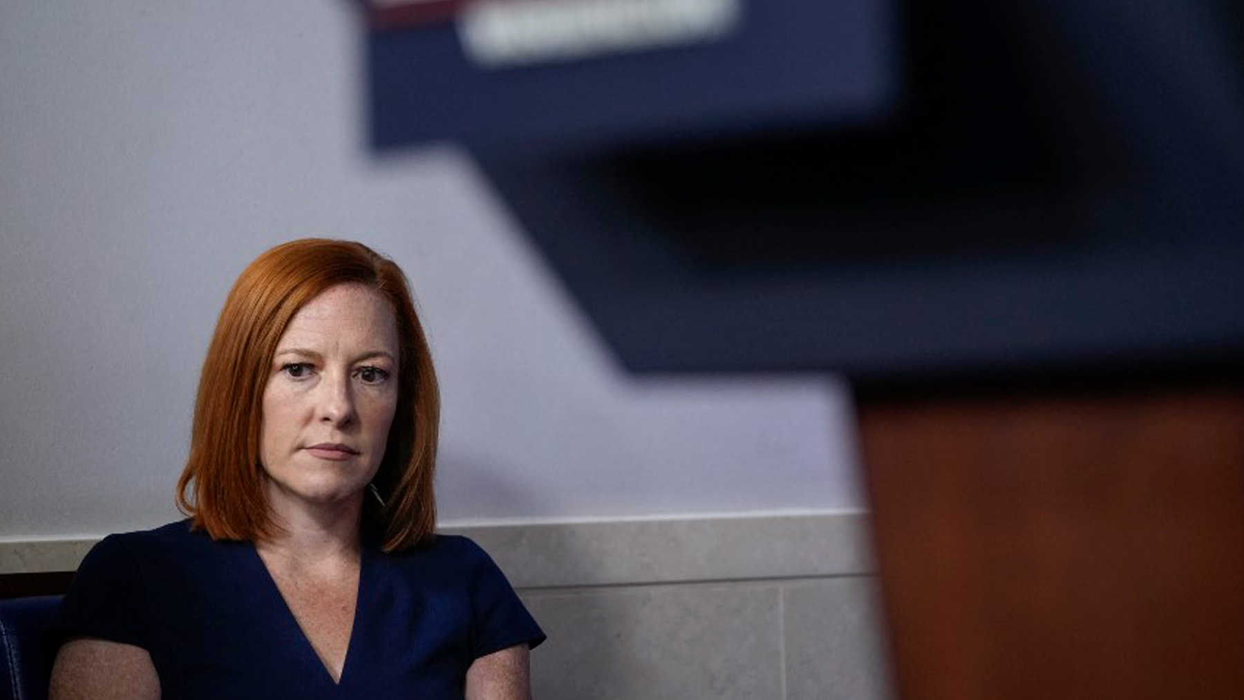 La portavoz de la Casa Blanca, Jen Psaki. Foto: AFP