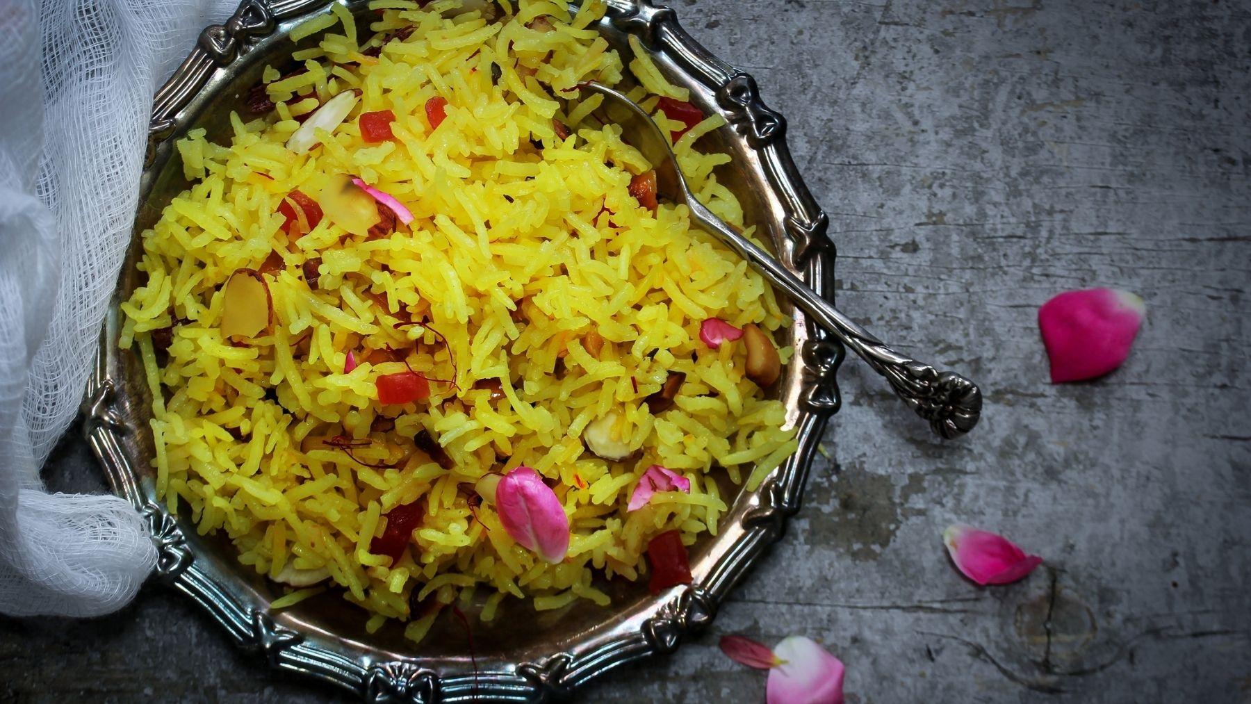 Descubrimos la receta de arroz con pinchitos