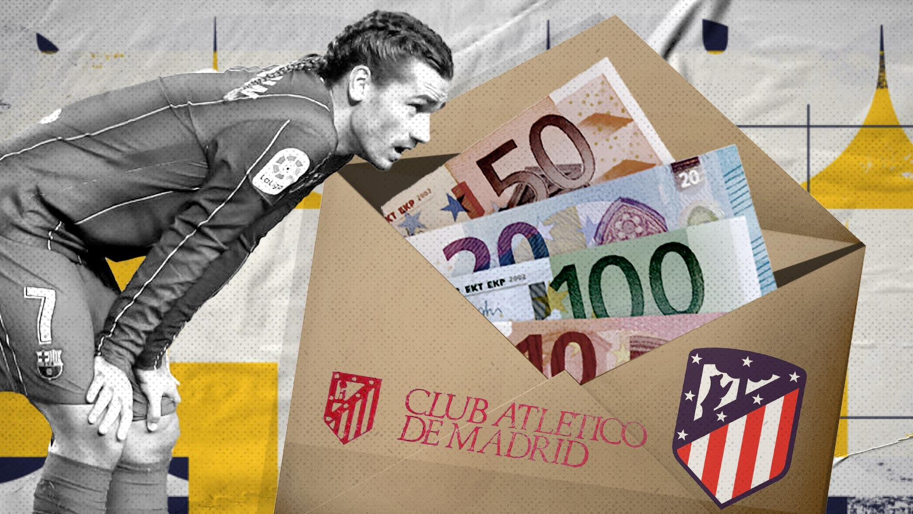 El sueldo de Griezmann en el Atlético.