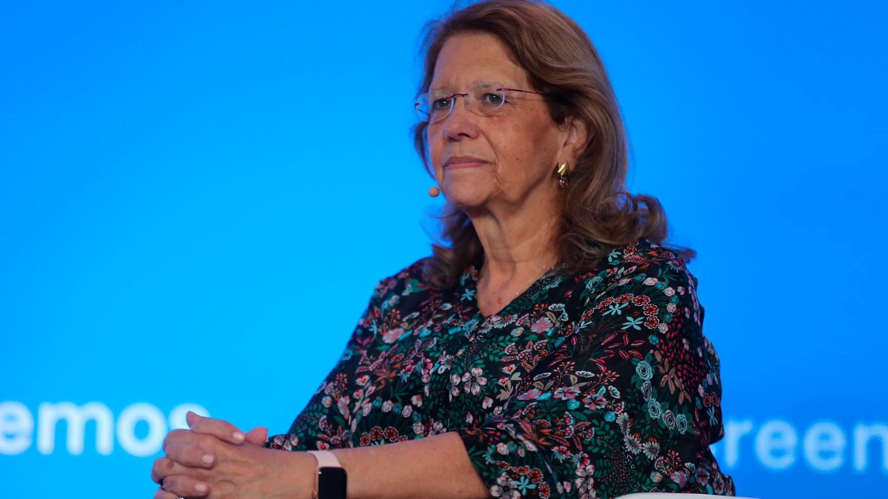 La ex ministra de Medioambiente y exsecretaria de Estado de Presupuestos, Elvira Rodríguez. Foto: EP