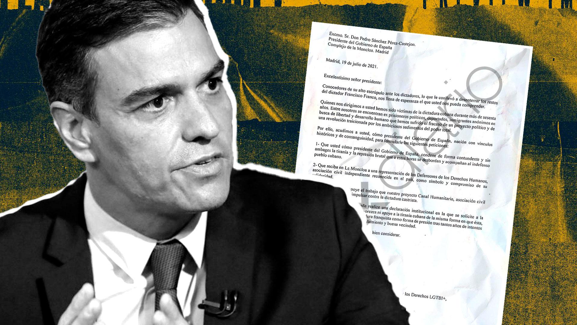 La respuesta de Pedro Sánchez a la disidencia cubana
