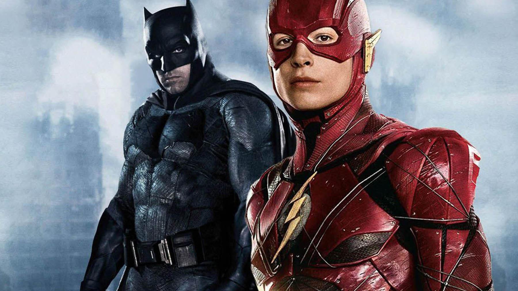Batman y Flash en «La Liga de la Justicia» (Warner Bros Pictures)
