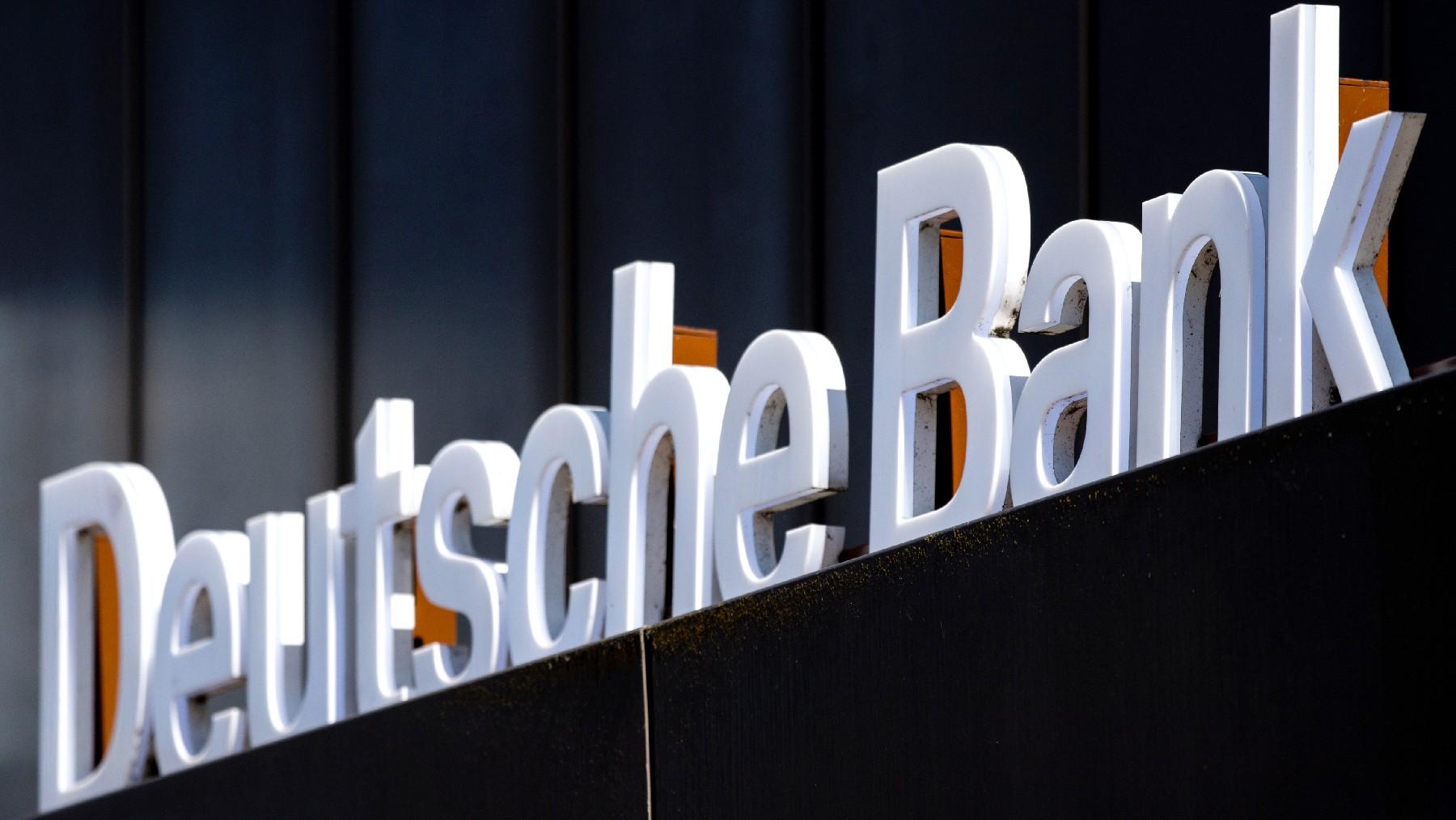 Deutsche Bank.