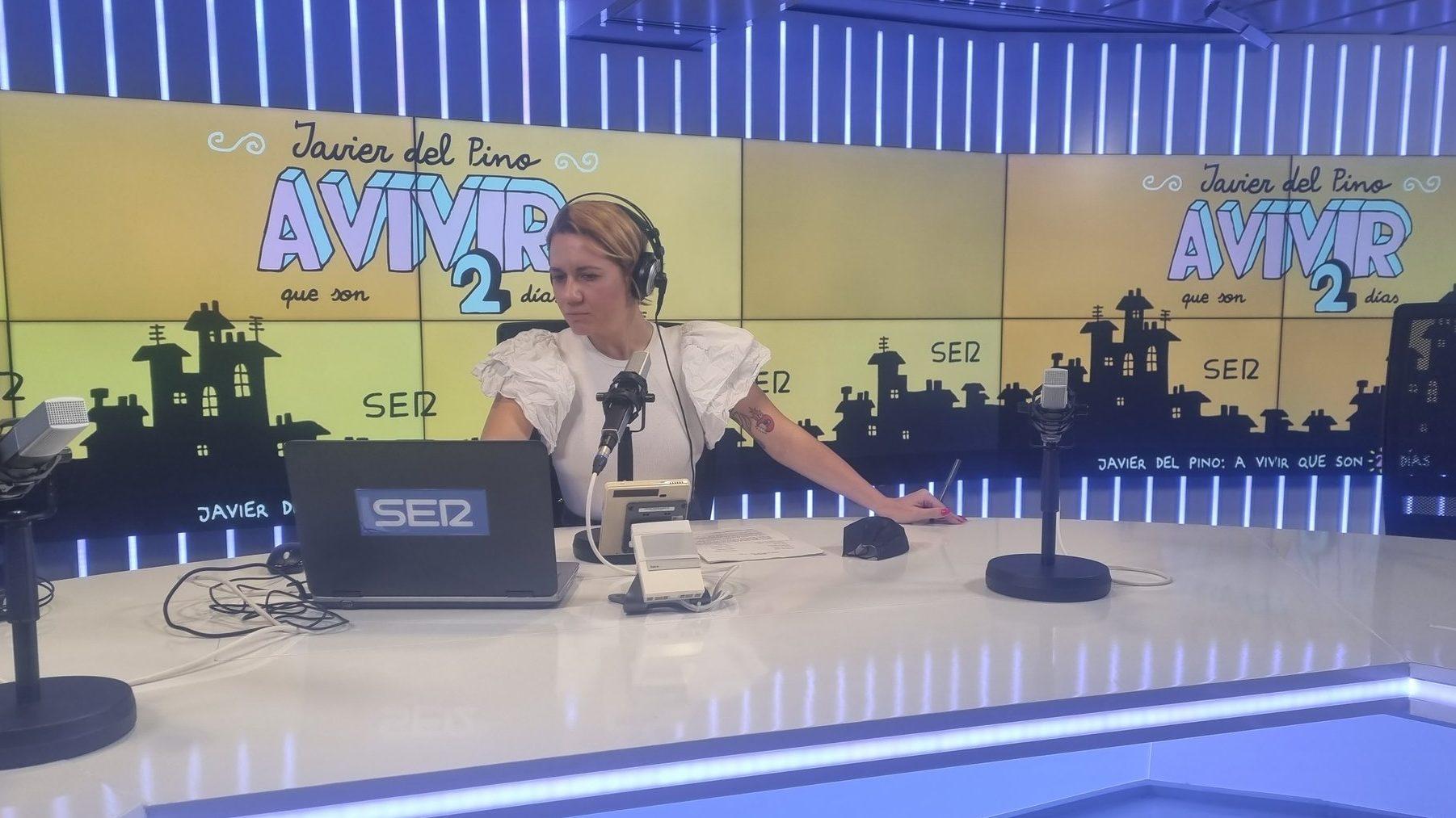 Henar Álvarez, de Cadena Ser.