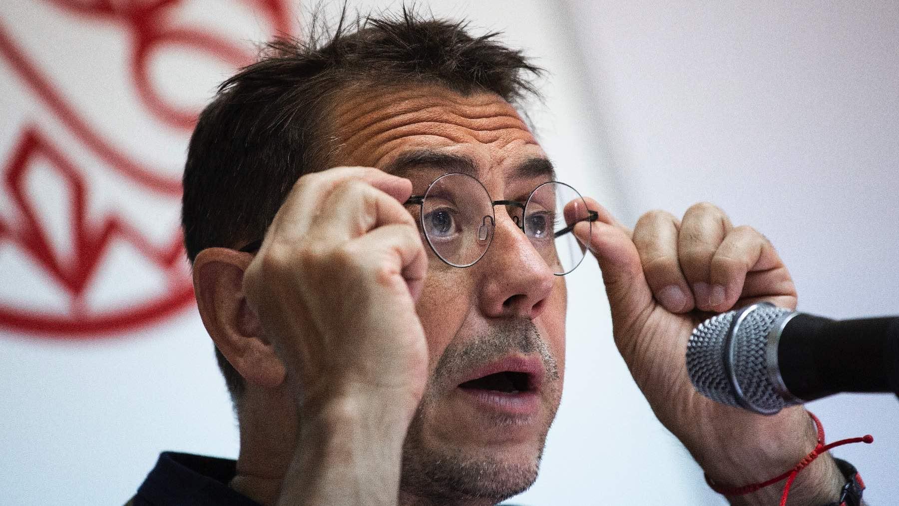 Juan Carlos Monedero. (Foto: Marta Fernández – Europa Press)
