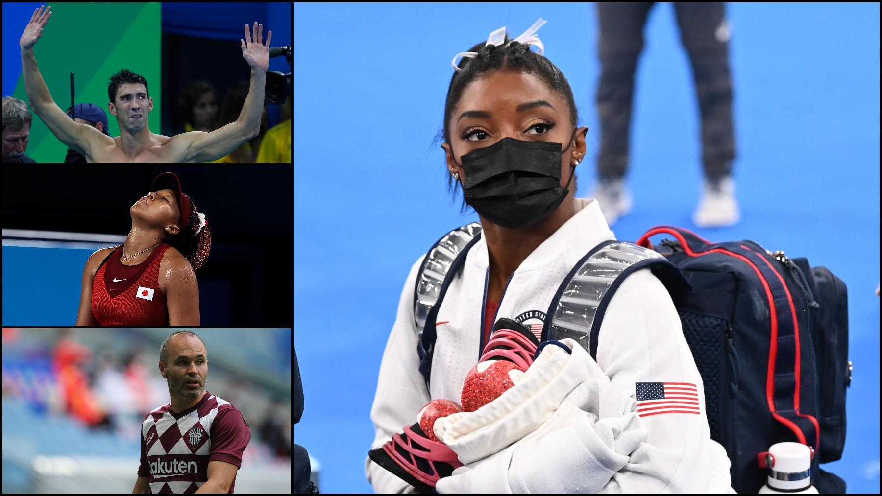 Biles, Phelps, Iniesta y Osaka.
