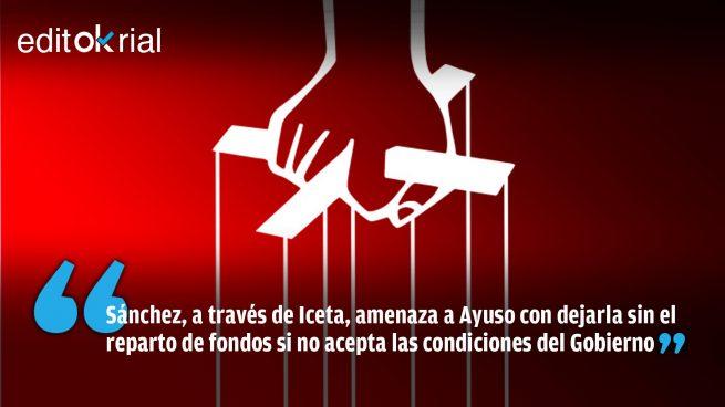 Ni Vito Corleone: así extorsiona el Gobierno a la Comunidad de Madrid