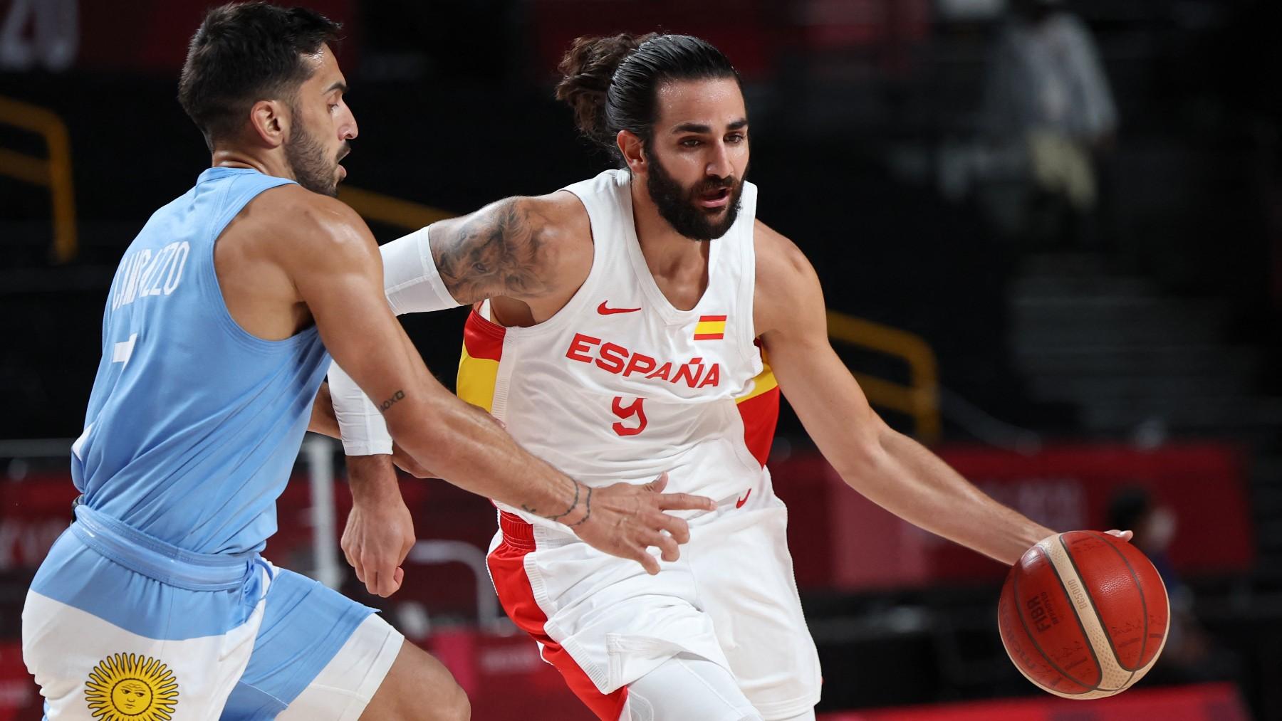 España – Argentina: partido de baloncesto de los Juegos Olímpicos en directo