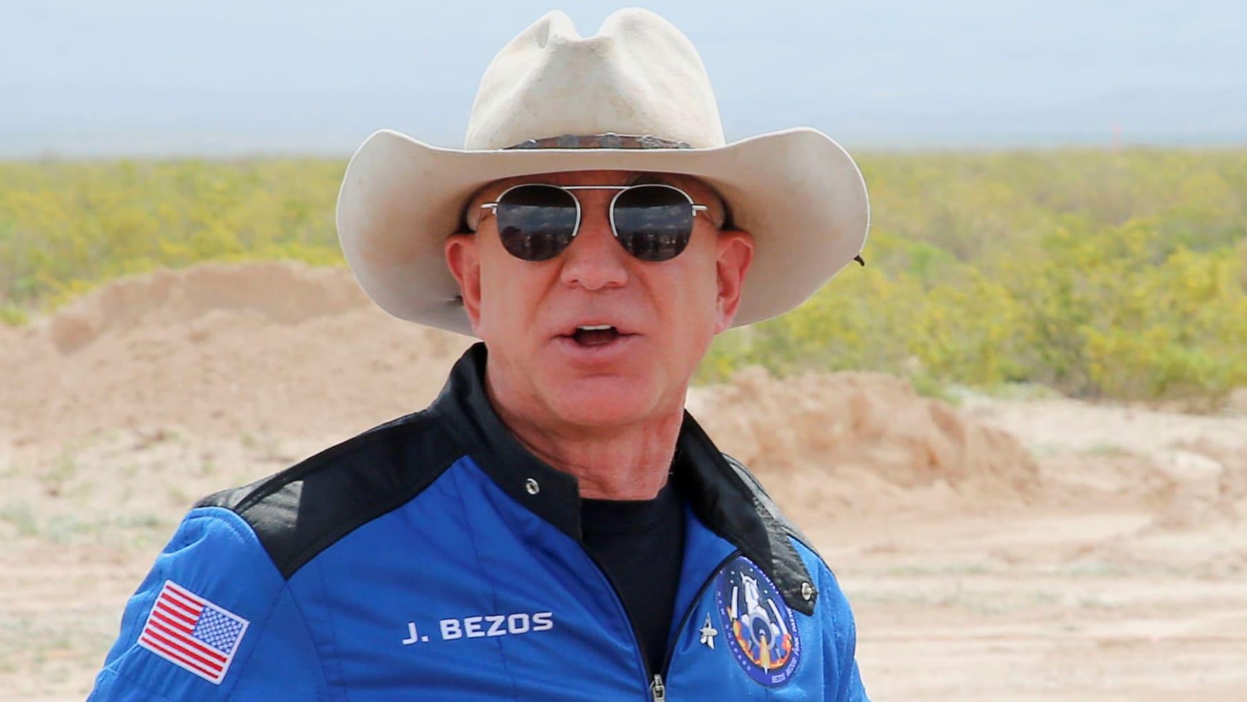 Jeff Bezos astronauta
