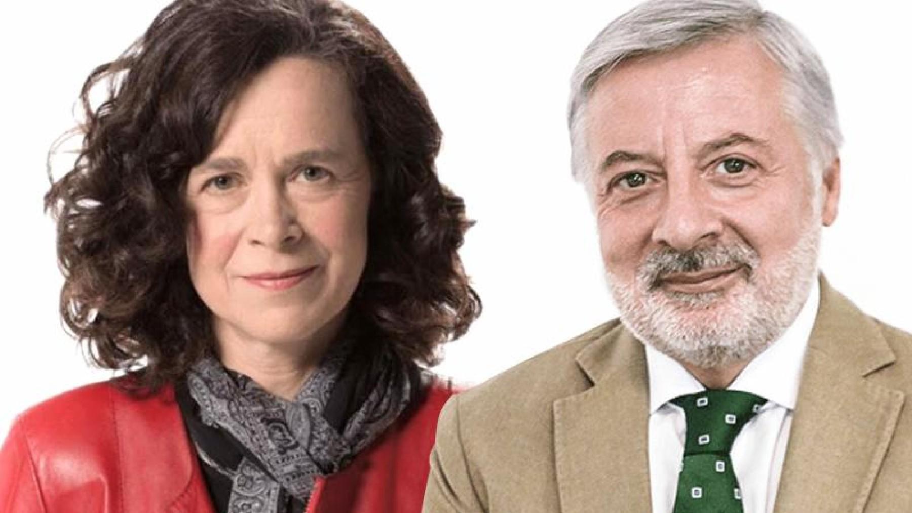 Rebecca Henderson y José Blanco