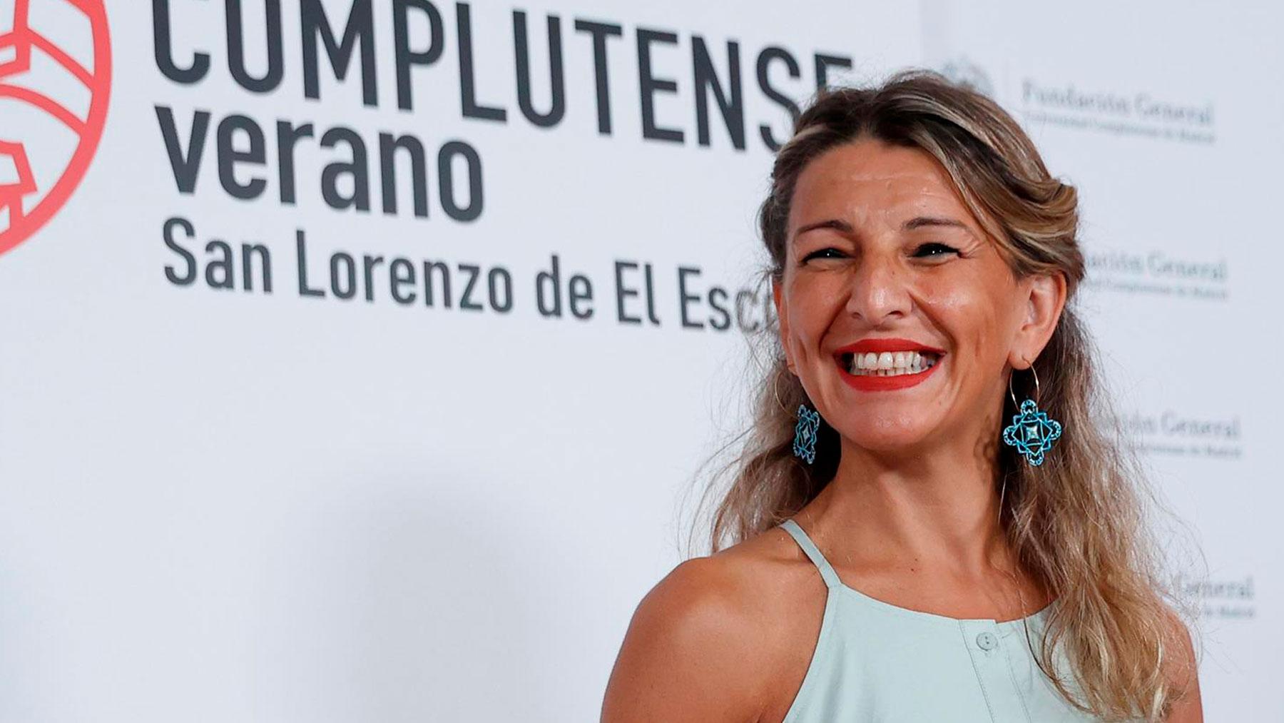 La ministra de Trabajo, Yolanda Díaz. Foto: EFE