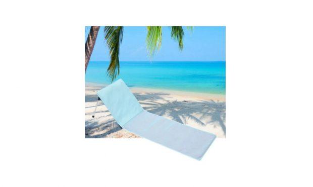 Tumbona de playa portátil y plegable