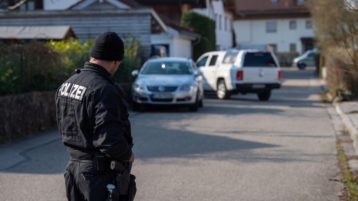 Policía en Baviera, Alemania. Archivo.