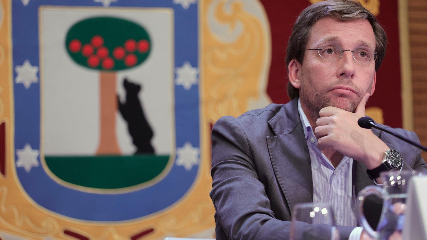 El alcalde Madrid, José Luis Martínez-Almeida. Foto: EP