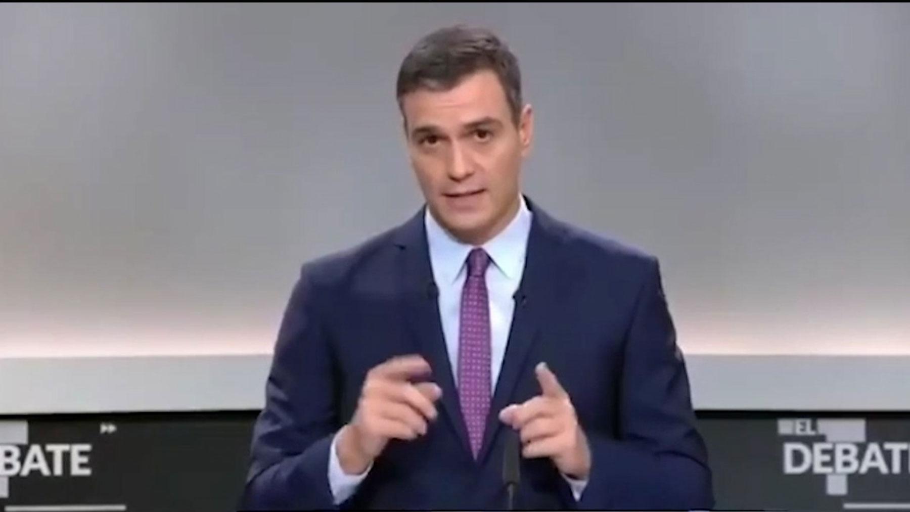 Pedro Sánchez en 2019.