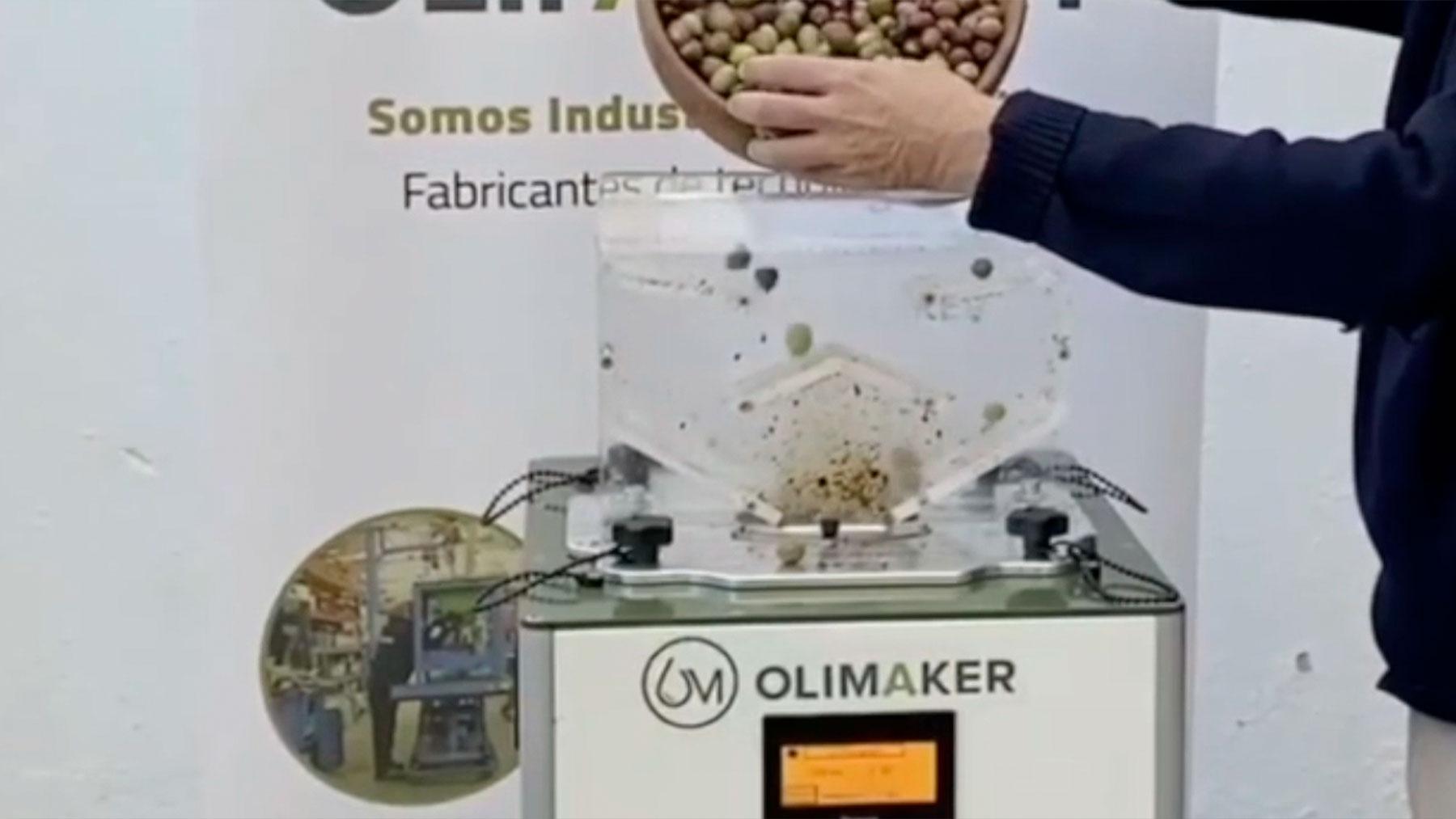Micro almazara creada en espña