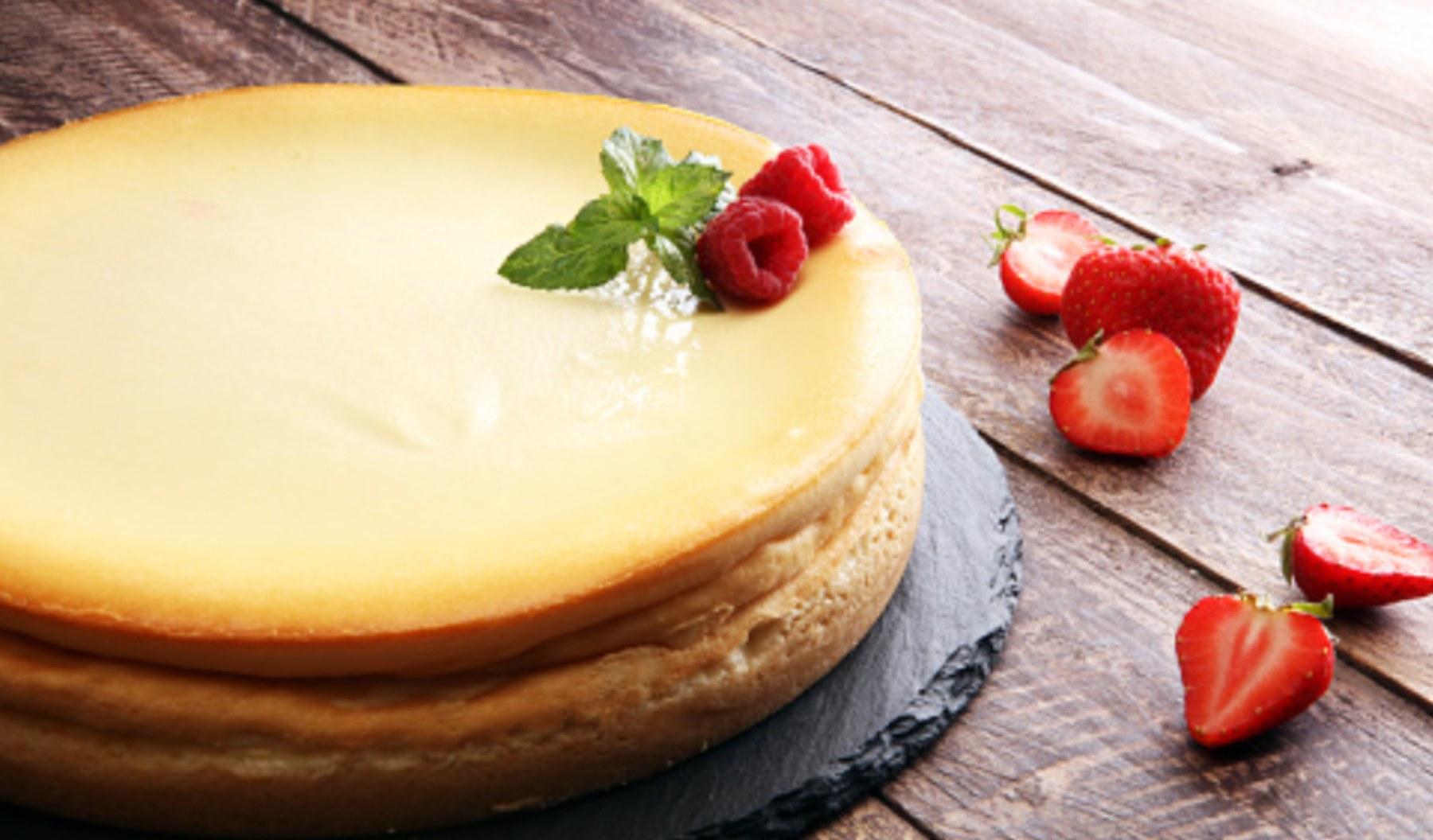 Pastel de yogur, receta con solo 3 ingredientes fácil de preparar y deliciosa