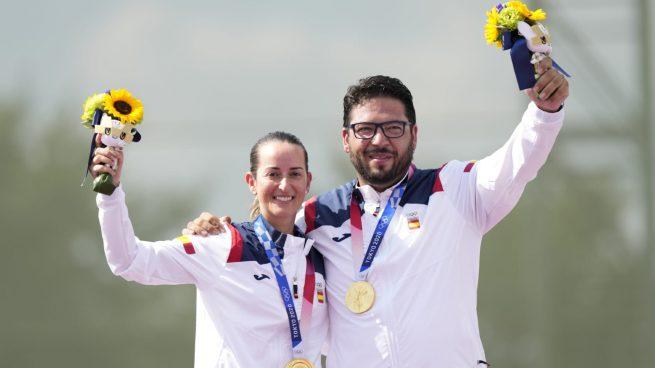¡Fátima Gálvez y Alberto Fernández consiguen el primer oro para España!