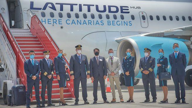 Hoteleros canarios crean la aerolínea Lattitude